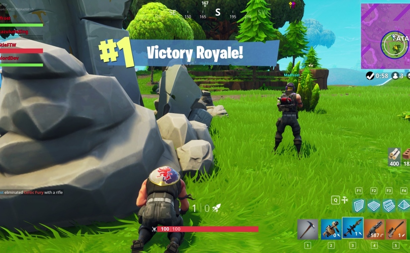 The Hidden Path to Victory inFortnite!
