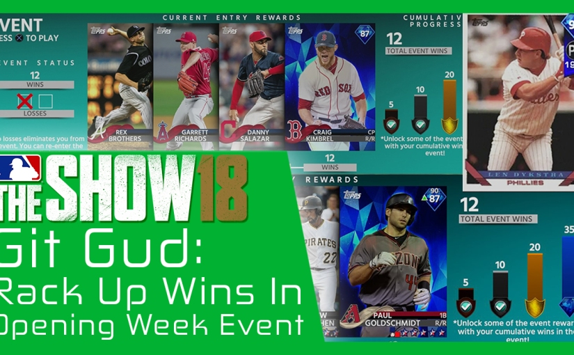 How to Rack Up Wins In the Opening Week Event!